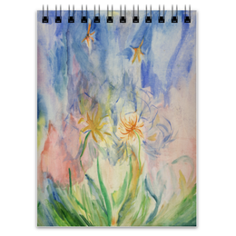 """Блокнот """"Watercolor"""" - цветы, дизайн, подарок, акварель, watercolor"""