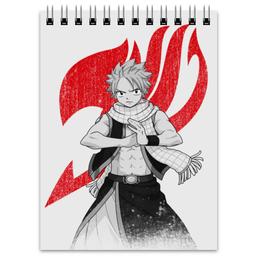 "Блокнот ""Нацу. Fairy Tail"" - аниме, манга, fairy tail, хвост феи, нацу"