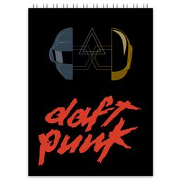 "Блокнот ""Daft punk"" - музыка, арт, daft punk"