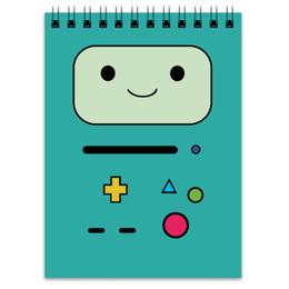 "Блокнот ""BMO  Adventure Time"" - adventure time, время приключений, bmo, бимо"