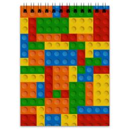 """Блокнот """"Конструктор Лего"""" - рисунок, детский, игрушка, конструктор, лего"""