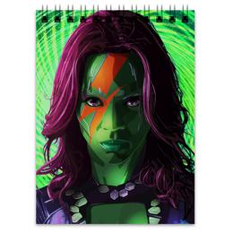 """Блокнот """"Гамора"""" - комиксы, марвел, стражи галактики, guardians of the galaxy, gamora"""