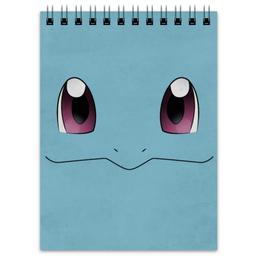 """Блокнот """"Сквиртл"""" - нинтендо, nintendo, pokemon go, покемон го, squirtl"""