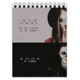 """Блокнот """"Американская История Ужасов"""" - american horror story, американская история ужасов, тейт лэнгдон, вайолет хармон"""