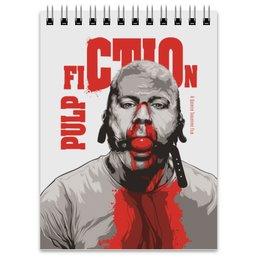 """Блокнот """"Pulp Fiction (Брюс Уиллис)"""" - кино, pulp fiction, брюс уиллис, тарантино, криминальное чтиво"""