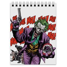 """Блокнот """"Бэтмен и Джокер"""" - joker, комиксы, batman, dc, dc comics"""