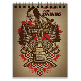 "Блокнот ""The Shining"" - king, сияние, shining, кинг, stephenking"
