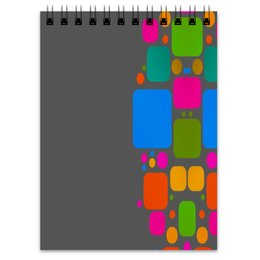"""Блокнот """"Квадраты"""" - узор, графика, кубики, геометрия, квадраты"""