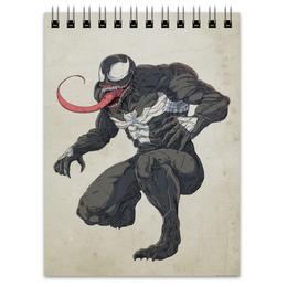 """Блокнот """"Веном (Venom)"""" - комиксы, venom, марвел, человек-паук, веном"""