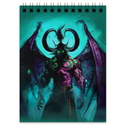"Блокнот ""WarCraft Collection: illidan"" - wow, warcraft, world of warcraft, варкрафт, иллидан"