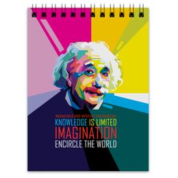 "Блокнот ""Альберт Эйнштейн"" - арт, наука, личности, эйнштейн, учёные"