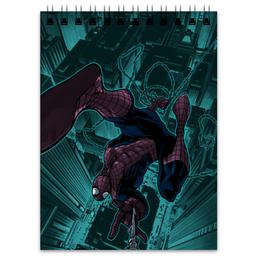 """Блокнот """"Человек-паук (Spider-man)"""" - комиксы, spider-man, марвел, человек-паук, питер паркер"""