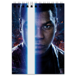 "Блокнот ""Звездные войны - Финн"" - кино, фантастика, star wars, звездные войны, дарт вейдер"