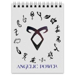 """Блокнот """"Руна Ангельская сила"""" - орудия смерти, руна, ангельская сила, angelic power"""