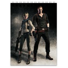 "Блокнот ""Resident Evil"" - игра, геймер, resident evil, umbrella, re"