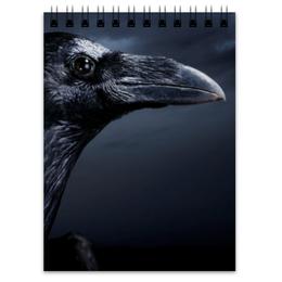"Блокнот ""Raven Brand"" - ворона, ворон, raven, бренд ворон, voron"