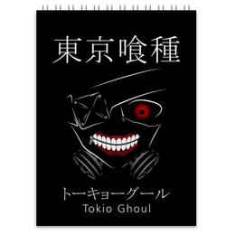 "Блокнот ""Токийский гуль"" - аниме, манга, токийский гуль, tokyo ghoul, кэн канэки"