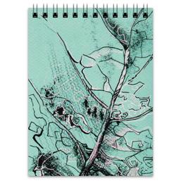 "Блокнот ""Весенняя осень"" - лист, рисунок, фактура"