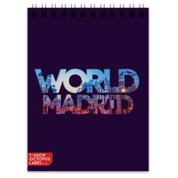 """Блокнот """"""""DIFFERENT WORLD"""": Madrid"""" - мир, города, world, madrid, мадрид"""