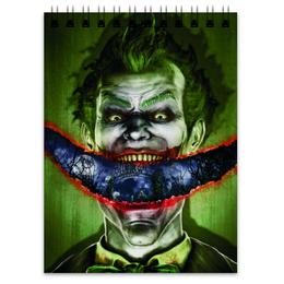 "Блокнот ""Джокер"" - joker, комиксы, batman, бэтмен, dc comics"
