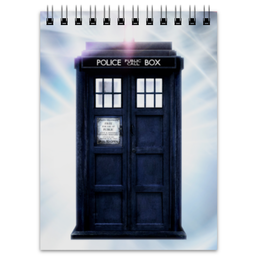 """Блокнот """"TARDIS"""" - doctor who, doctor, tardis, доктор кто, тардис"""