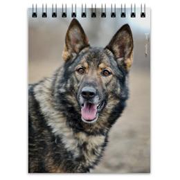 "Блокнот ""Зонарная немка"" - собака, овчарка, овчар-команда"
