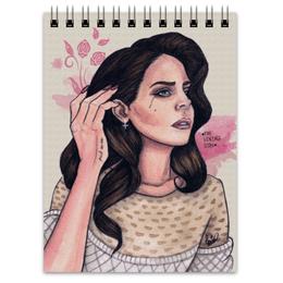 """Блокнот """"Lana Del Rey"""" - lana del rey, лана, лана дель рей"""