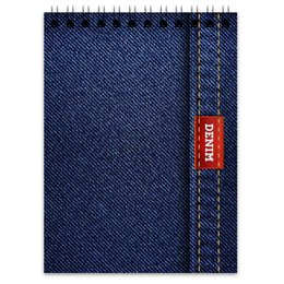 """Блокнот """"Джинсовый арт"""" - абстракция, джинсы, ткань, jeans, denim"""