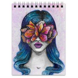 """Блокнот """"Весна"""" - праздник, девушка, цветы, 8 марта, весна"""