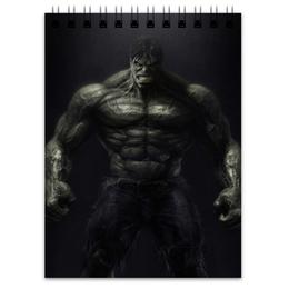 """Блокнот """"халк"""" - комиксы, hulk, marvel, халк, марвэл"""