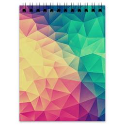 """Блокнот """"Полигональная текстура"""" - абстракция, полигональная текстура"""