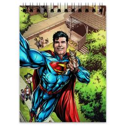"Блокнот ""Супермен (Superman)"" - комиксы, dc, dc comics, супс"