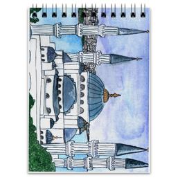 """Блокнот """"Мечеть"""" - страны, город, путешествия, мечеть"""