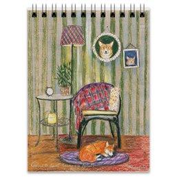 """Блокнот """"Корги в доме"""" - собака, новыйгод, корги, вельшкорги"""