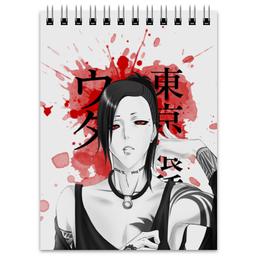 """Блокнот """"Токийский гуль. Ута"""" - аниме, манга, токийский гуль, tokyo ghoul, ута"""