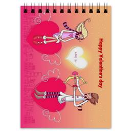 "Блокнот ""Happy Valentine's Day"" - любовь, love, с днём святого валентина, валентинки, happy valentine's day"