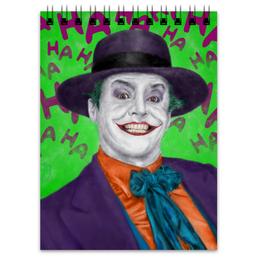 """Блокнот """"Джокер"""" - комиксы, batman, марвел, dc comics, джек николсон"""
