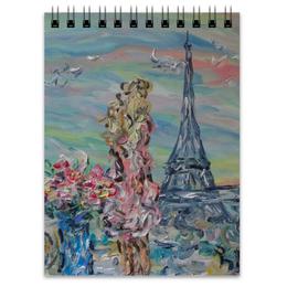 """Блокнот """"Париж"""" - счастье, небо, париж, paris, эйфелева башня"""