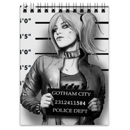 "Блокнот ""Харли Квинн"" - комиксы, бэтмен, harley quinn, отряд самоубийц, suicide squad"