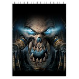 "Блокнот ""WarCraft Collection"" - wow, warcraft, world of warcraft, варкрафт, нежить"