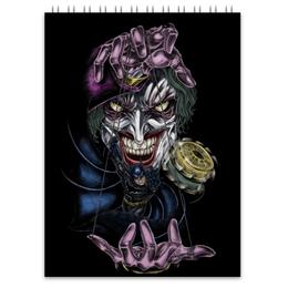"""Блокнот """"Joker & Batman"""" - комиксы, джокер, dc, dc comics, бэтме"""