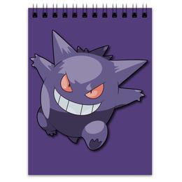 "Блокнот ""Генгар"" - нинтендо, nintendo, pokemon go, покемон го, gengar"