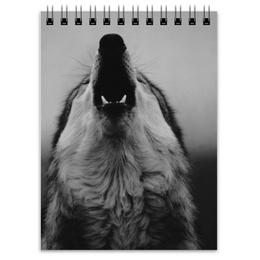 """Блокнот """"Wolf """" - волк, wolf"""