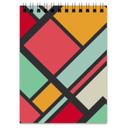 "Блокнот ""Модерн"" - узор, стиль, орнамент, абстракция, модерн"