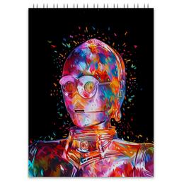 "Блокнот ""C-3PO"" - star wars, стар варс, ситрипио, звездные войн"