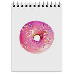 """Блокнот """"Пончик"""" - пончик, doughnut, donut"""
