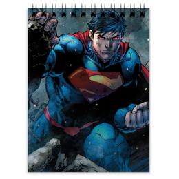 "Блокнот ""Супермен (Superman)"" - комиксы, супермэн, dc, dc comics, кларк кент"