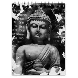 """Блокнот """"Будда (Письмена)"""" - духовность, философия, религия, buddha, будда"""