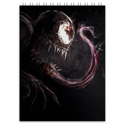 """Блокнот """"Веном (Venom)"""" - комиксы, venom, marvel, марвел, веном"""