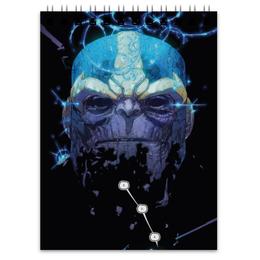 "Блокнот ""Танос"" - марвел, комиксы, мстители, thanos, comics"